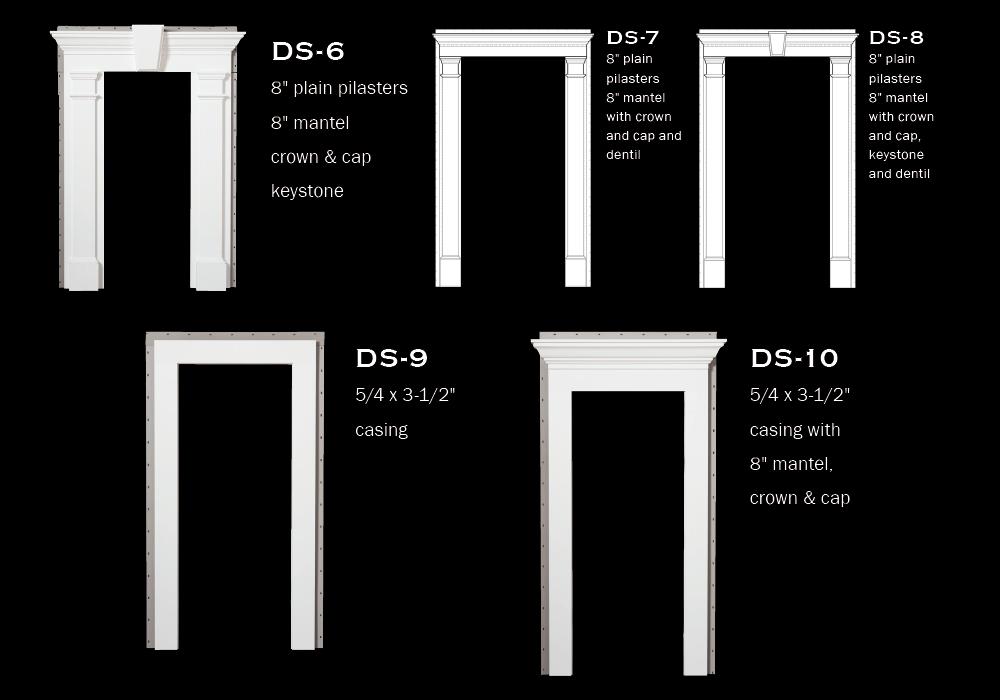 Door Surrounds: DS-1 to DS-5